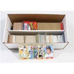 BOX OF 1500+ NLB CARDS.