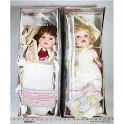 LOT OF 2 SWEETHEART COLLECTION DOLLS