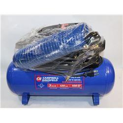 CAMPBELL HAUSFELD 3 GALLON 100 MAX PSI AIR
