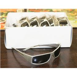 CARTON OF SILVER DESIGNER SUNGLASSES