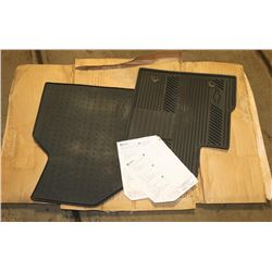 PAIR OF NEW FRONT SEAT MATTS, CHEVY