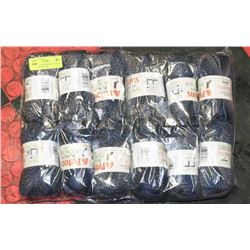 LOT OF 12 PATONS KROY SOCKS FX CHAMBRAY COLORS