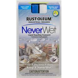 """RUST-OLEUM """"NEVER-WET"""" LIQUID REPELLING TREATMENT"""