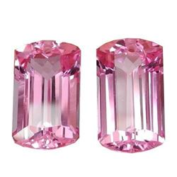 25.70 CT Beuatiful Pink Topaz Cushion Cut -Drilled