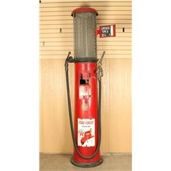 Antique Gravity Fed Texaco Fire Chief Gas Pump