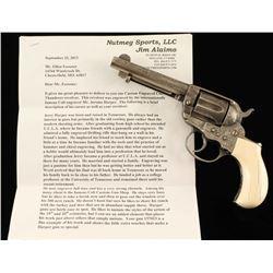 *Jerry Harper Engraved Colt 1877 Thunderer