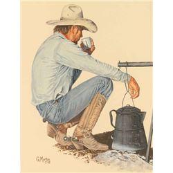 Original Watercolor on Paper by Gary Morton