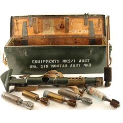 Original British WWII Era 2-Inch Paratrooper