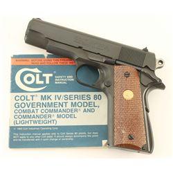 Colt Combat Commander .45 ACP SN: FC02202