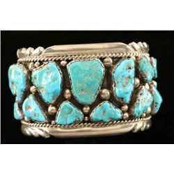 Royston Turquoise Zuni Cuff