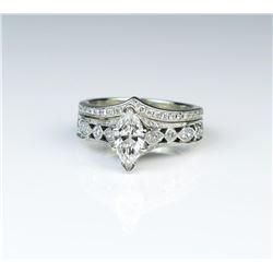 Romantic Neil Lane Designer Engagement/Wedding