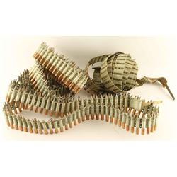 WWI Vickers Machine Gun Ammo Belts