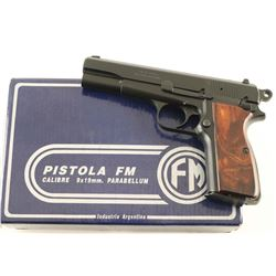 FM M90 'Hi-Power' 9mm SN: 377483