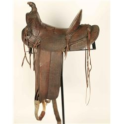 Garcia High Back Saddle