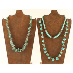 Vintage Navajo Turquoise Necklaces