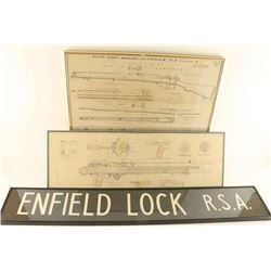Enfield and Machine Gun Diagrams