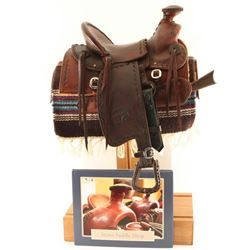 Stires Miniature Saddle & Stand