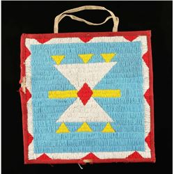 Large Nez Perce Beaded Bag