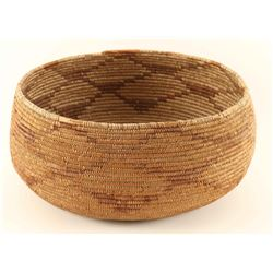 Paiute Basketry Bowl