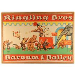 Vintage Ringling Bros Barnum & Bailey Poster