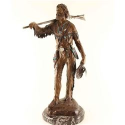 Bronze of Mountain Man