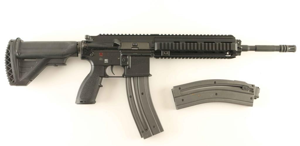 Heckler & Koch HK 416 D  22 LR SN: WH014807