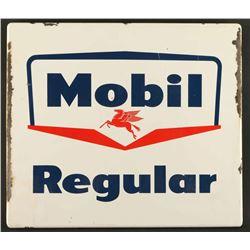 Porcelain Mobil Sign