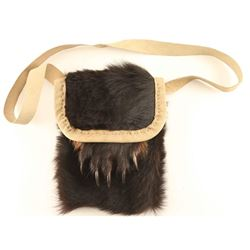 Bear Fur & Claw Native Purse