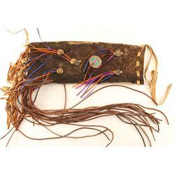 Buffalo Fringed Pipe Bag