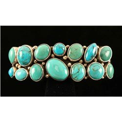 Contemporary Turquoise Cluster Ciff