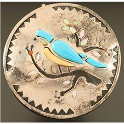 Zuni Inlaid Pendant