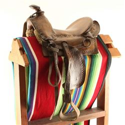 Western Child's Saddle
