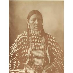 Photo Print of Native American Woman