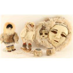 Eskimo Mask & Yo-yo& Dolls