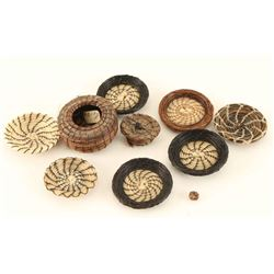 9 Miniature Basket