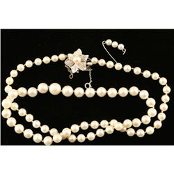 Matinee Length Cultured Pearls