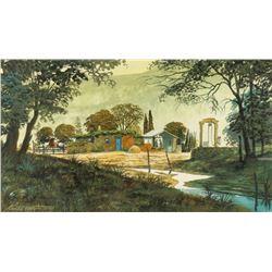 Original Watercolor on Paper by Ken R. Watson
