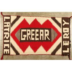 Small Navajo Textile Rug