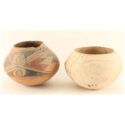 2 Preshistoric Pots