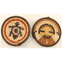 Lot of 2 Hopi Trays