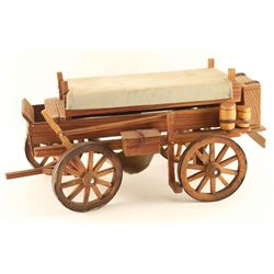 Wood Model of Wagon