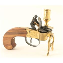 All Brass Flintlock Tinder Lighter