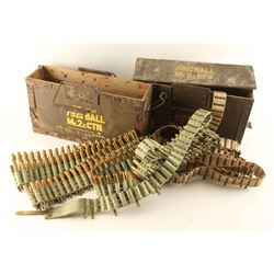 Lot of 2 British Ammo Cans