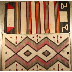 Navajo Rug & Saddle Blanket