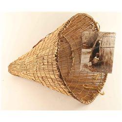 Paiute Burden Basket