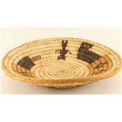 Papago Rattlesnake Basket