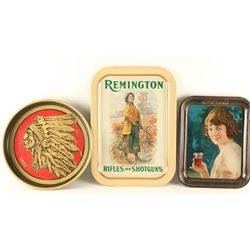 Lot of 3 Advertiser Tins