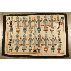 Yei Corn Dancer Rug