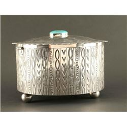 Navajo Sterling Silver Box