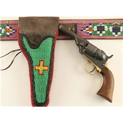 Sioux Beaded Gun Rig & Colt